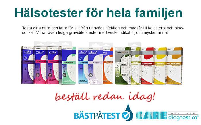 Care diagnostica sj�lvtester