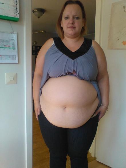 Gravid eller mens på gång