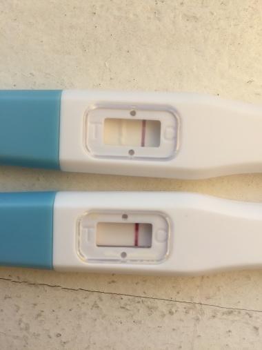 gravid utan positivt test