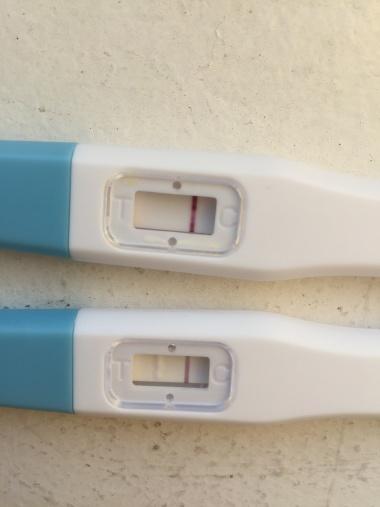 mens försenad 2 dagar negativt test