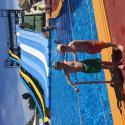 Familj: Dennis & Hugo på badland på Mallorca