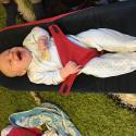Familj: 3 mån o invigning av babysittern!