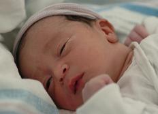 Den nyfödda bebisen