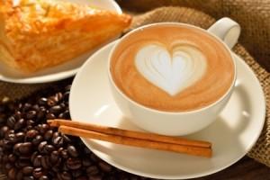 kaffe gravid